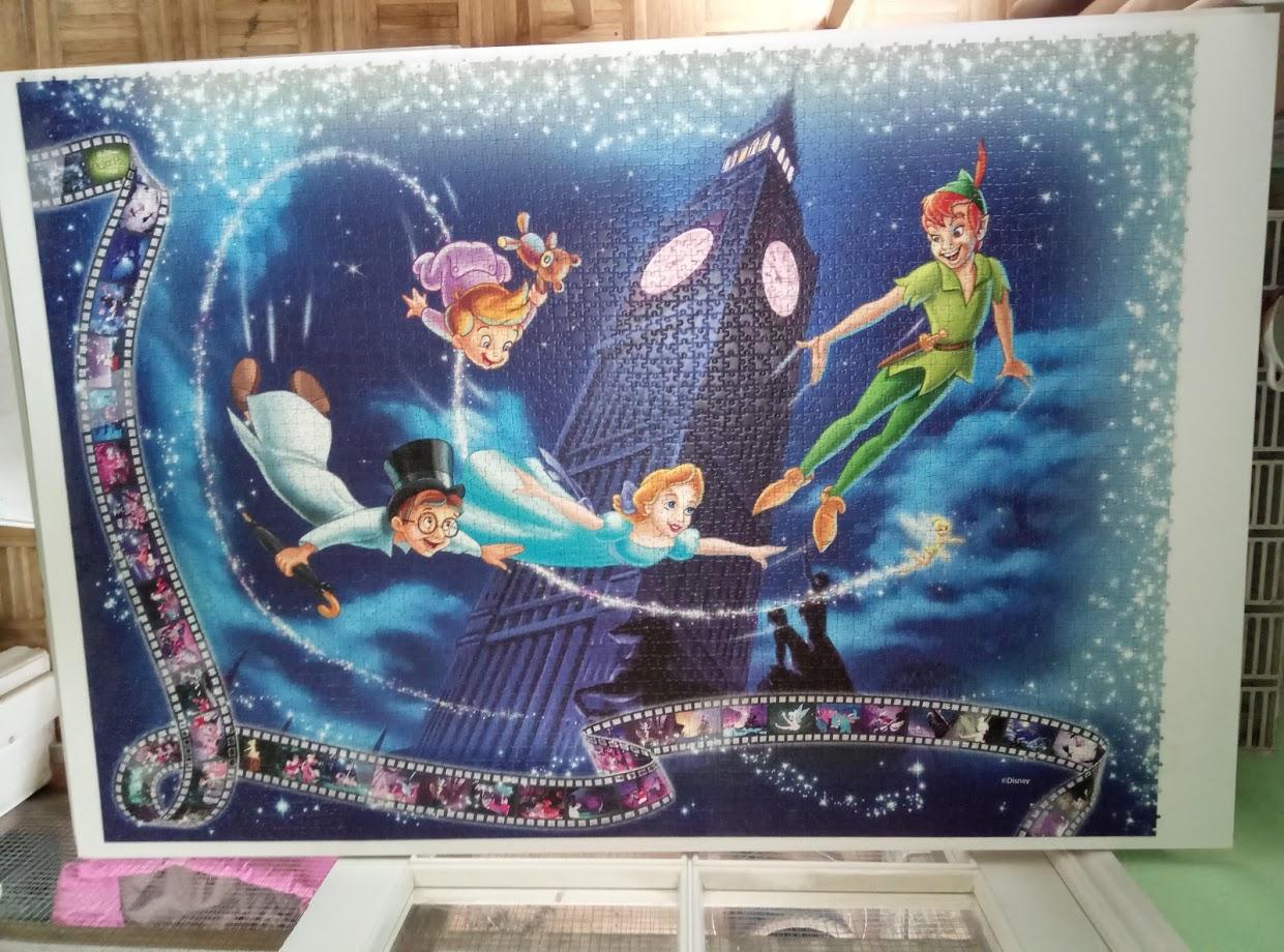 Puzzle-Abschnitt Peter Pan