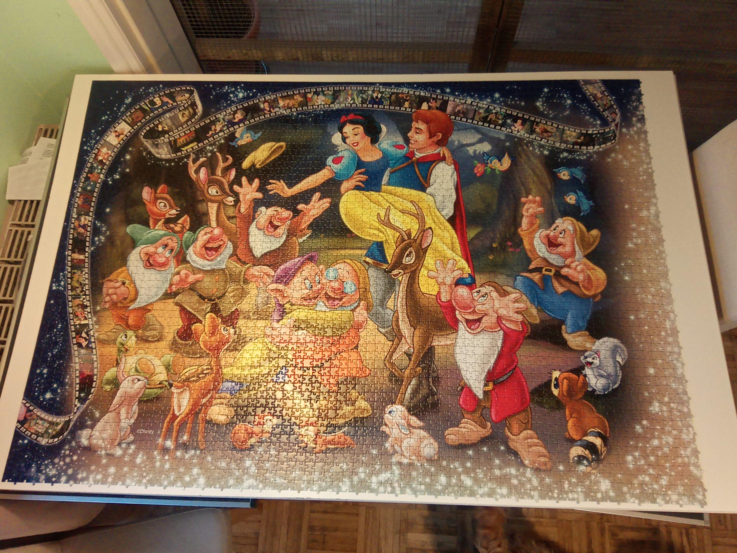 40320 Puzzleteile sind fertig gelegt